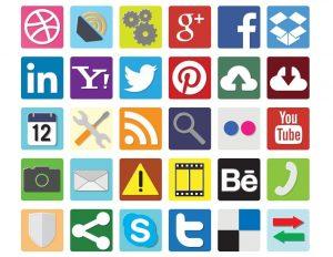 flat DC icons