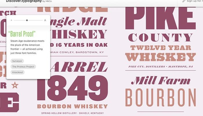 Hoefler & Co Discover Typography