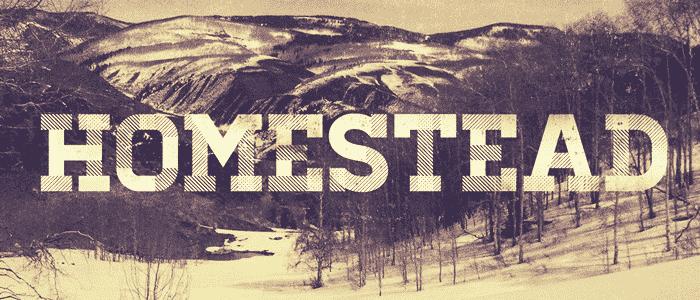 Homestead: Free Fonts