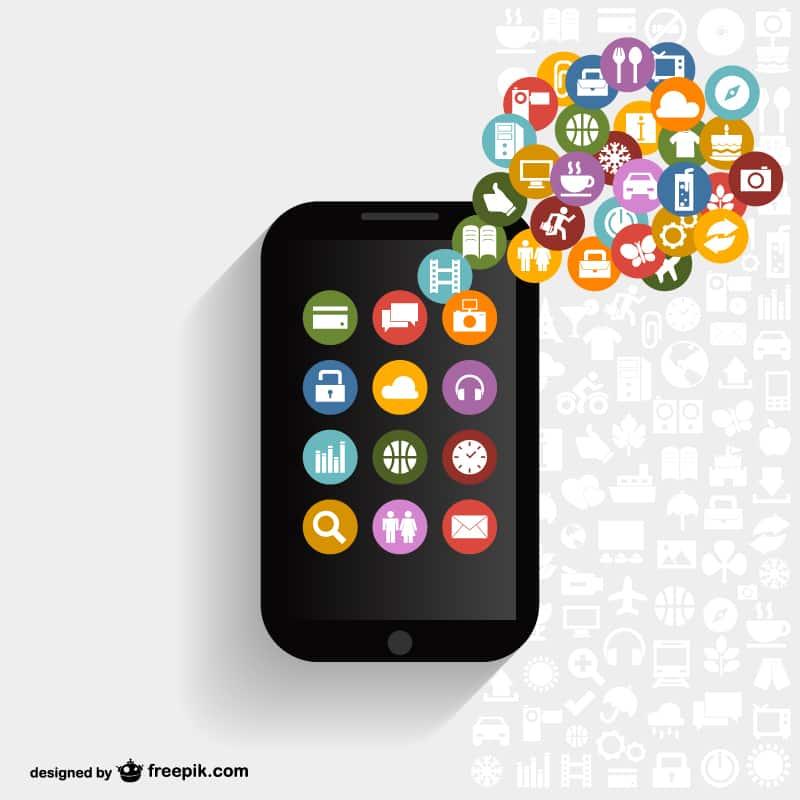 Free Vector App Designs Design Crawl Vector Apps