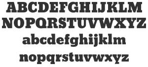 Bevan: Free Slab Serif Fonts