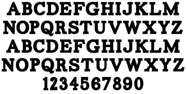 Carton: Free Slab Serif Fonts
