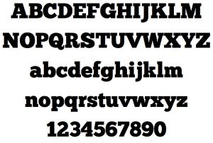 ChunkFive: Free Slab Serif Fonts
