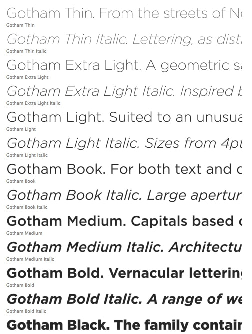 Twitter Changes Its Font to Gotham: Why?