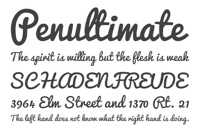 Pacifico Free Font