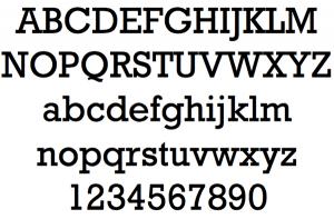 Rockwell: Free Slab Serif Fonts