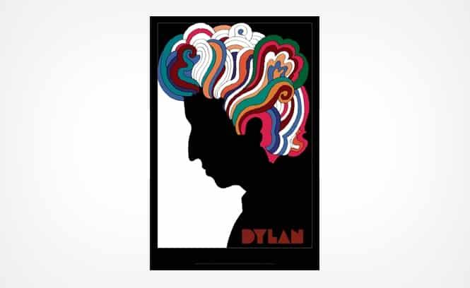 Milton Glaser: Bob Dylan Poster