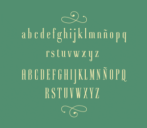 Ayres free font: full preview