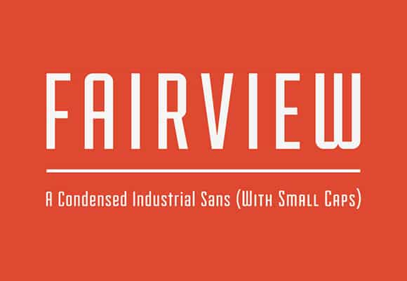 Free Retro Fonts: Fairview