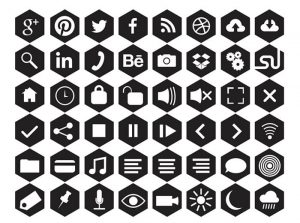 Free Hexagonal Icons