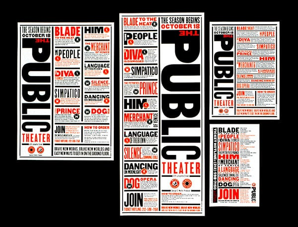 the public theatre posters