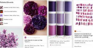 Web Design Trends purple