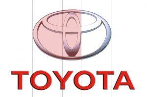 Golden ratio: Toyota Logo