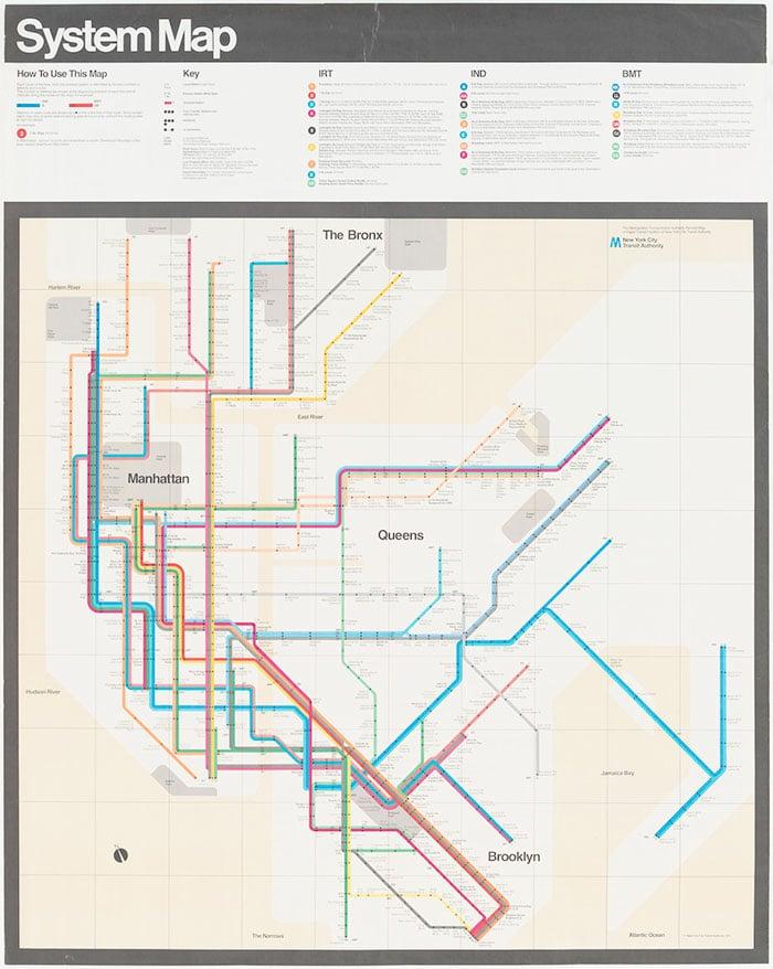 Massimo Vignelli - Subway Map