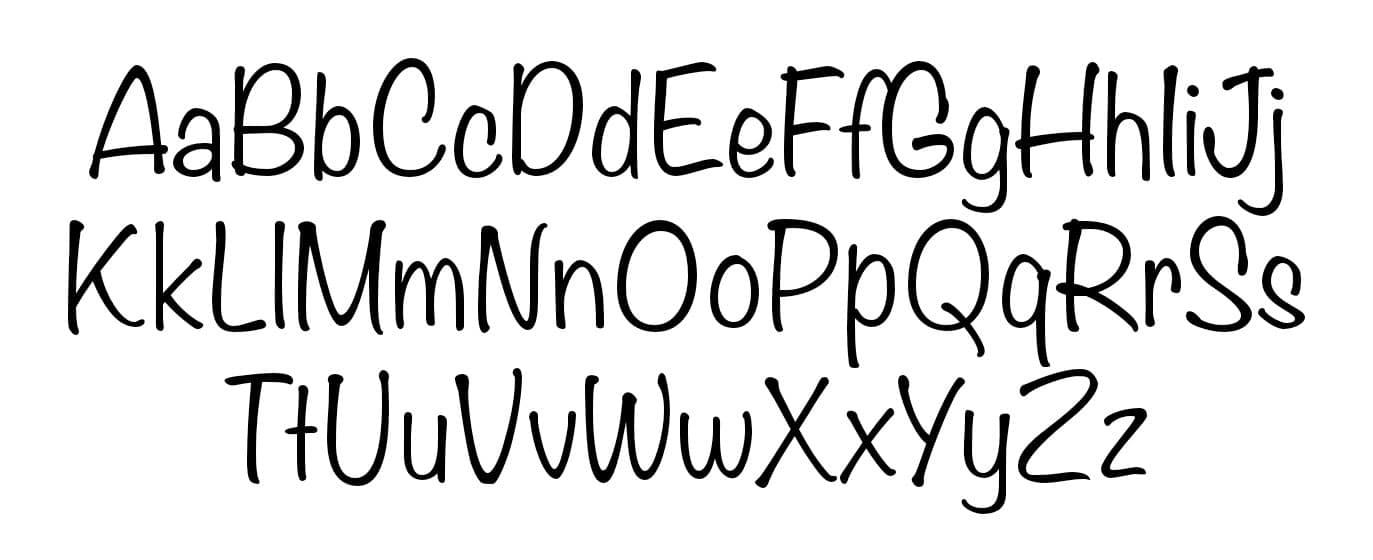 Free Noteworthy Bold Fonts