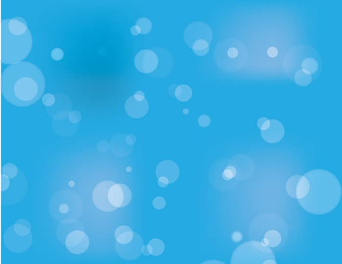 Vector Bokeh backgrounds: blue