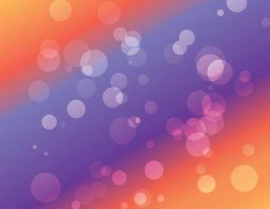 Vector Bokeh backgrounds: Purple orange