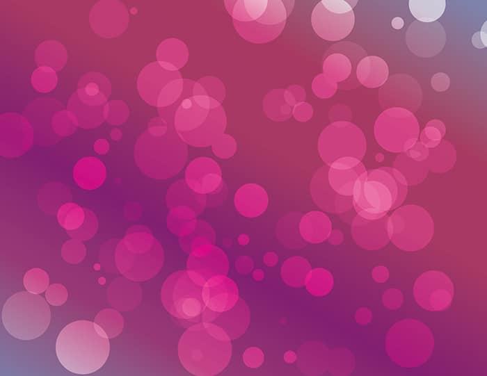 Vector Bokeh: pink