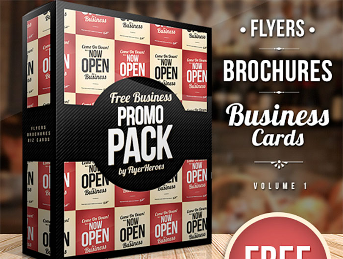 free flyer templates - brochures-and-promotional-pack