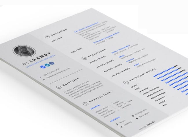 free-interactive-resume