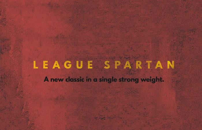 League Spartan Free Font + Animated Version