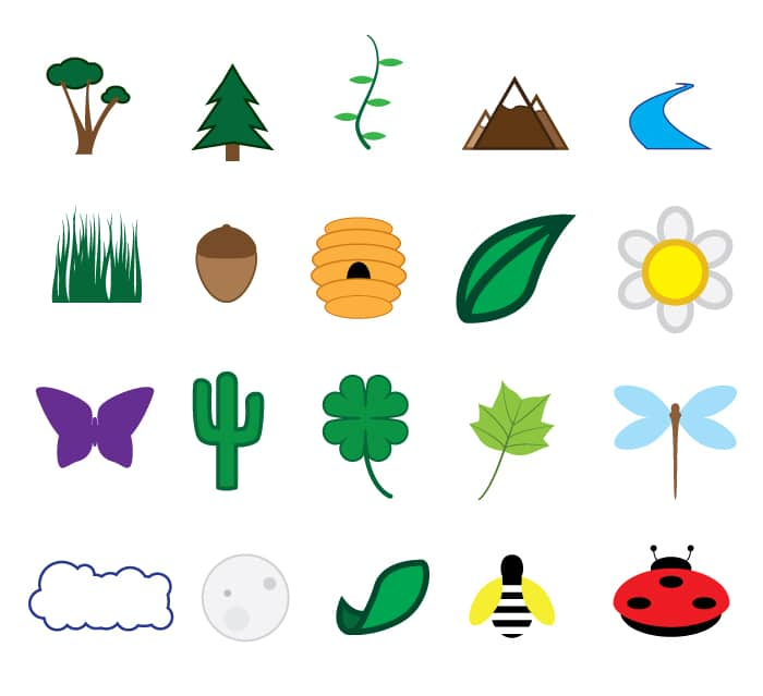 naturecons free icon set