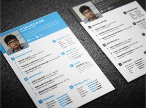 free resume templates 7