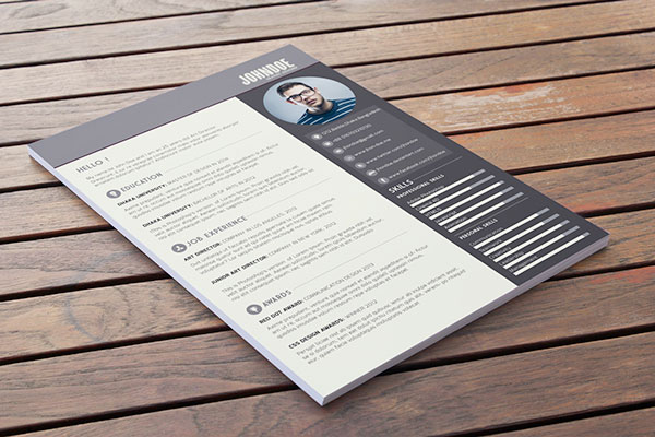 10 awesome free resume templates