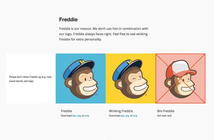 style guide example mailchimp