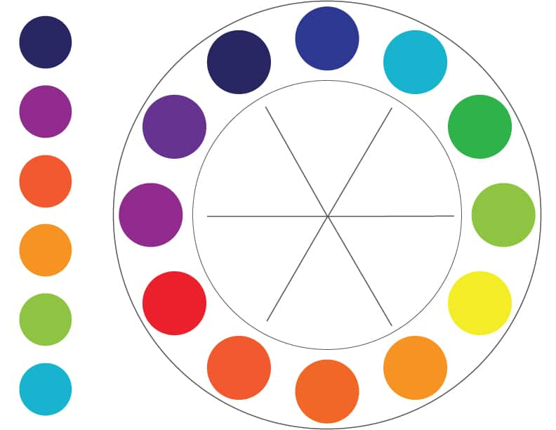 Color Theory: Tertiary example