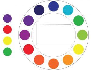 Color Theory: Tetrad example