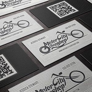 Letterpressed & Embossed Business Cards