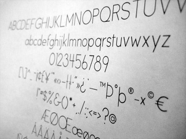 Beautiful Free Thin Fonts