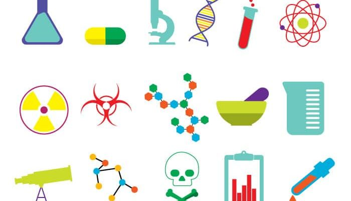 free science icons
