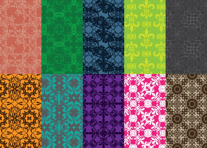 10 Free Vector Patterns