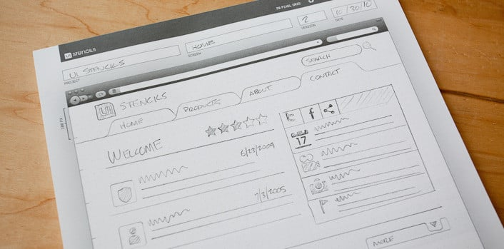Browser sketch pad