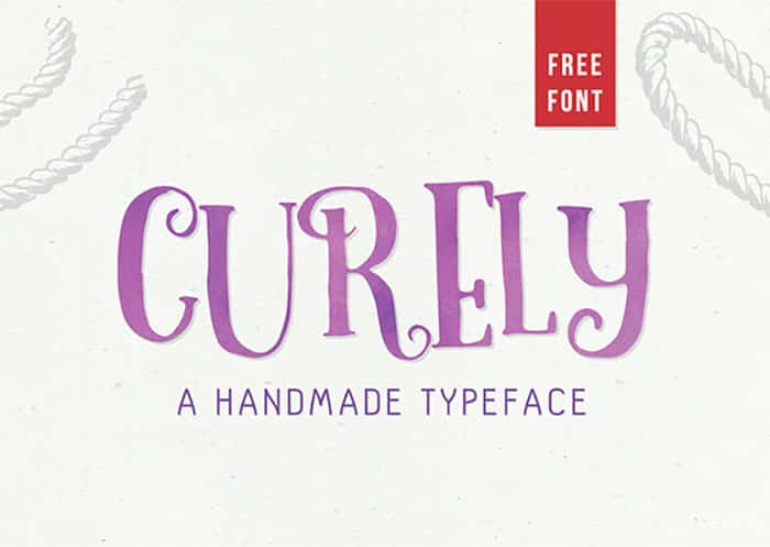 curly - Fresh Free Fonts