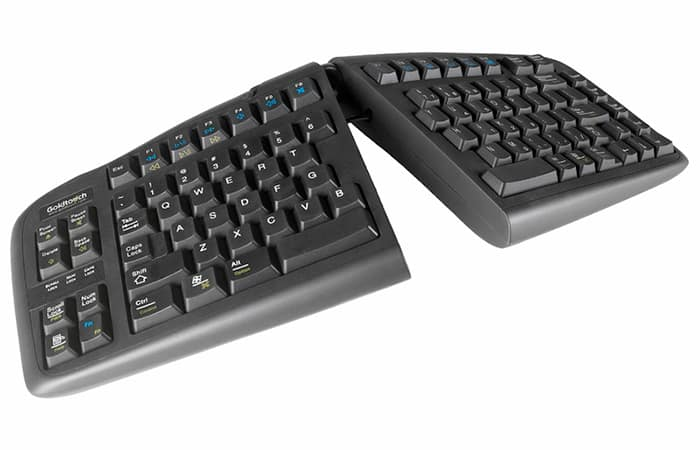 Ergonomic keyboard - gifts for graphic designers