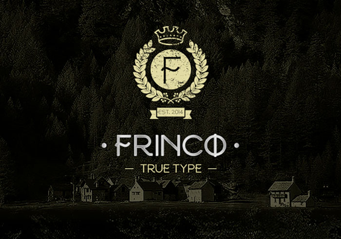 frinco - Fresh Free Fonts
