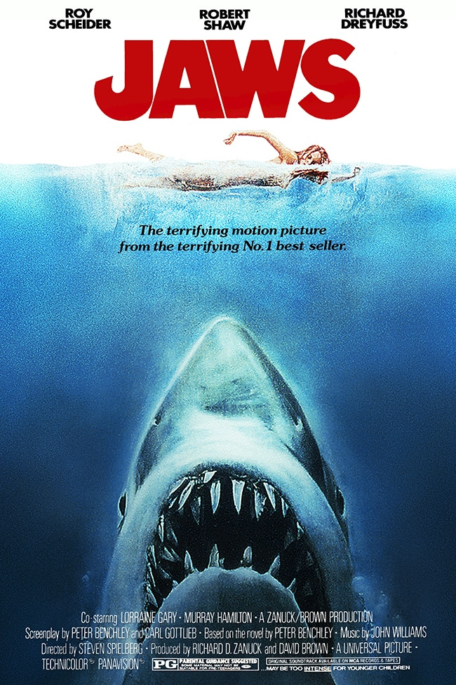 Jaws - Iconic posters