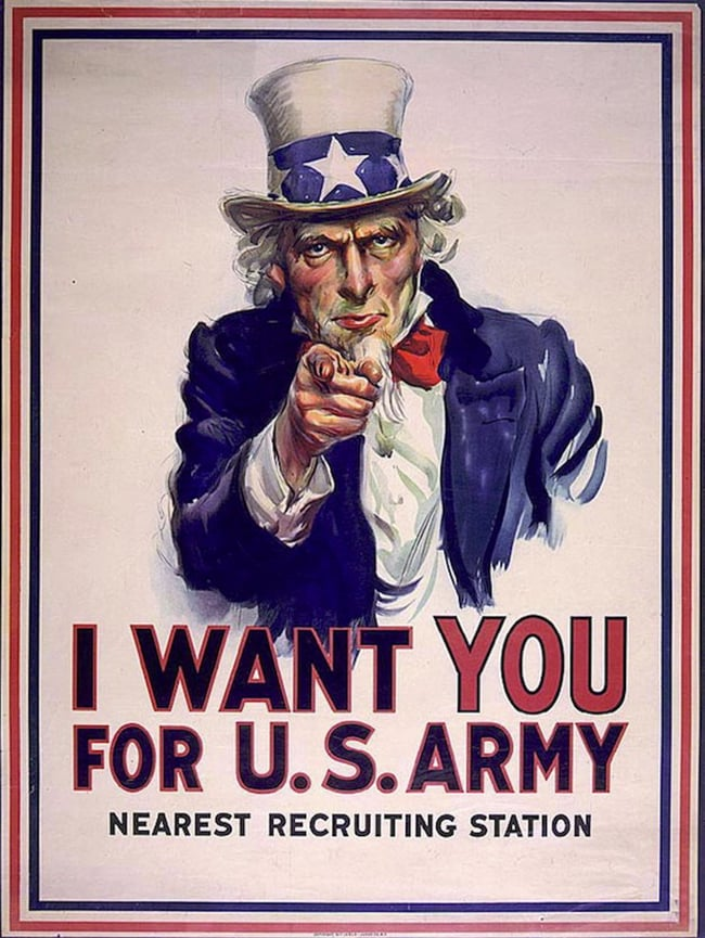 Uncle Sam - Iconic posters