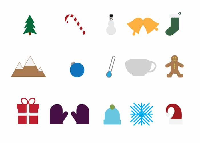 15 Free Winter Icons