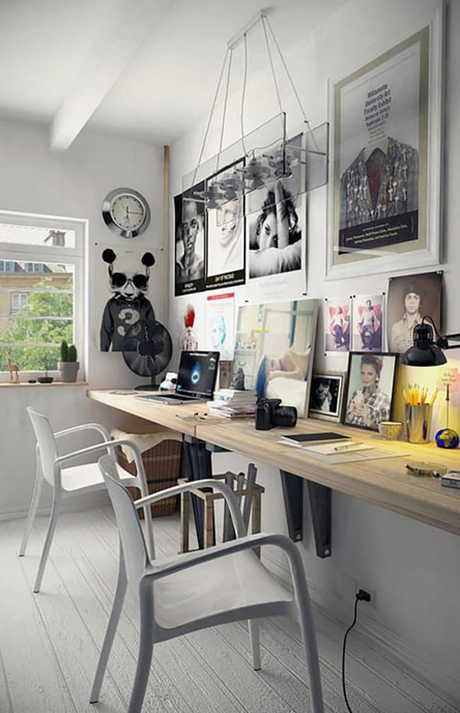 masculine office design