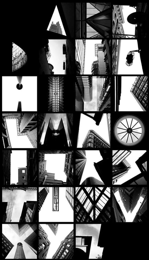 skyscraper lettering