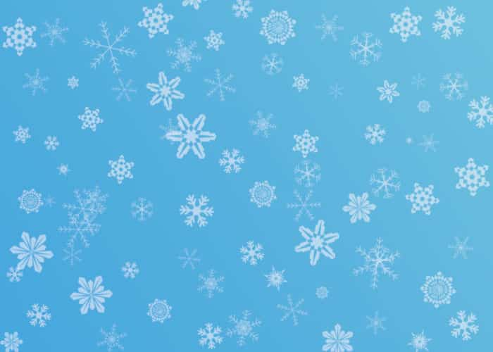 Snowflake Brushes: Photoshop