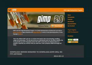 Gimp Design Software