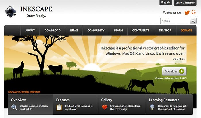 Design software alternatives to adobe design crawl Inkscape software