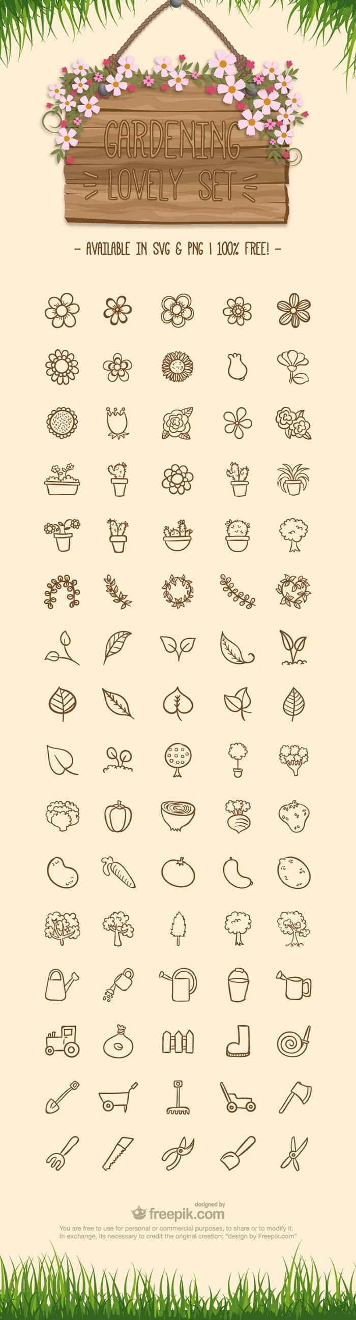 gardening-free-icon-set
