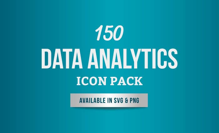 150 Data Analytics Icon Set