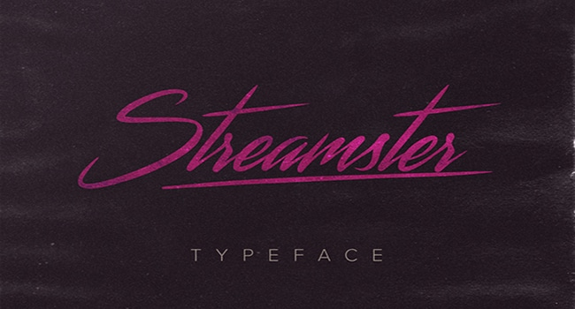 Streamster-Typeface